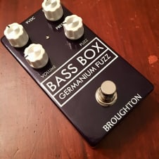 Broughton Audio  Bass Box Germanium Fuzz