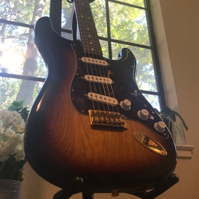 Fender Deluxe Player Stratocaster  2013 Dark Burst for sale