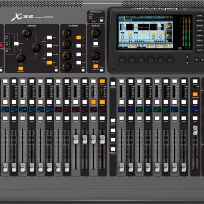 Behringer X32 32-Channel  16-Bus Total-Recall Digital Mixing Console