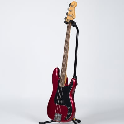 Fender Nate Mendel Precision Bass - Rosewood, Candy Apple Red for sale