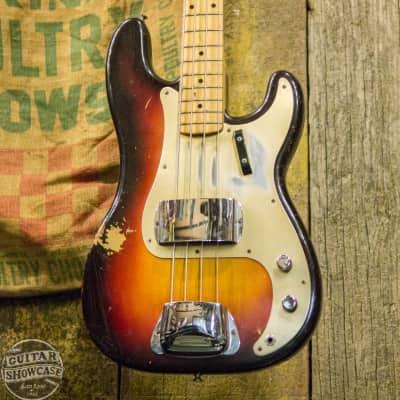 Fender 1958 Precision P Bass 3-Tone Sunburst All Original