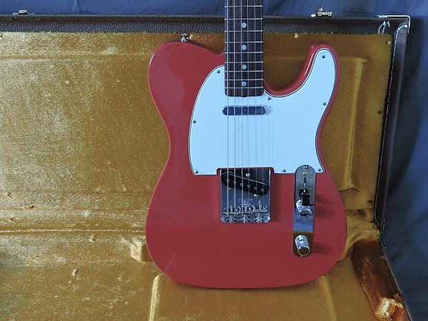 fender american vintage 39 64 telecaster 2014 fiesta red reverb. Black Bedroom Furniture Sets. Home Design Ideas
