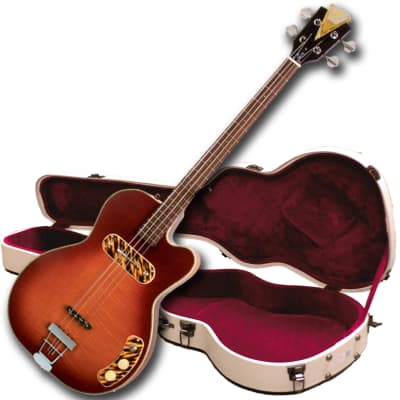 """Kay Collector Edition Reissue """"Pro"""" Electronic Bass Guitar includes FREE $60 Shipping & $250 Case"""