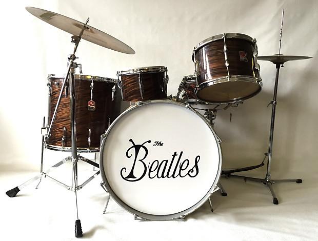 ringo starr the beatles original premier drum kit premier reverb. Black Bedroom Furniture Sets. Home Design Ideas