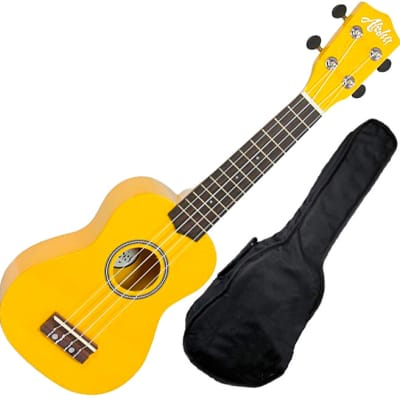 Aloha UK-200f YW ukelele soprano aloha amarillo con funda for sale