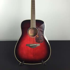 Yamaha FG720S-DSR Dreadnought Acoustic Guitar Dusk Sun Red