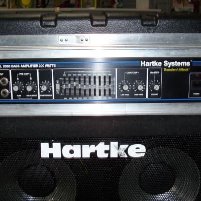 Hartke HA2000 in SKB Case with 4.5 XL Bottom for sale