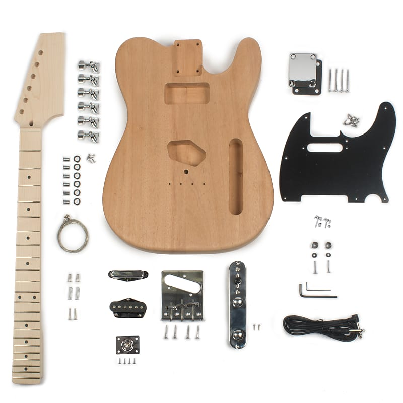stewmac t style electric guitar kit stewmac reverb. Black Bedroom Furniture Sets. Home Design Ideas