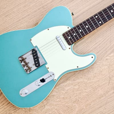 2007 Fender Telecaster Custom '62 Vintage Reissue TL62B-80TX Ice Blue Japan MIJ, USA Pickups for sale