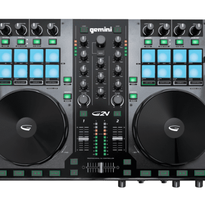 Gemini G2V 2-Channel DJ Controller