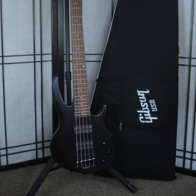 Gibson EB-5 Bass T Satin Black 2017 - w/Gibson Cordura Gig Bag for sale