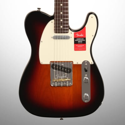 Fender American Pro Telecaster Electric Guitar, Rosewood Fingerboard with Case, 3-Color Sunburst for sale