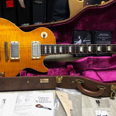 Gibson Les Paul Paul Kossoff VOS 1959 Killer Top! Dark Rosewood! for sale