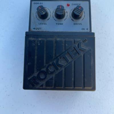 Rocktek ODR-01 Overdrive Analog Over Drive Rare Vintage Guitar Effect Pedal for sale