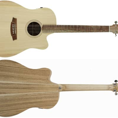 Cole Clark Guitars Fat Lady 1 Series FL1EC-BM Dreadnought Acoustic-Electric Guitar (New York, NY) for sale