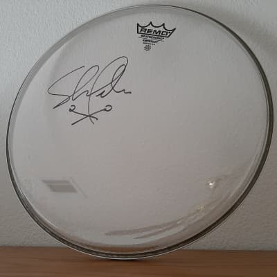 "12"" Remo Drumhead - Signed by SNL Drummer Shawn Pelton!"