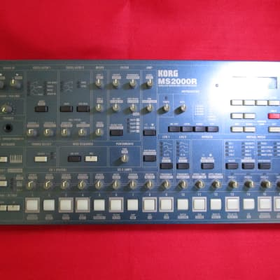 KORG MS2000R Rack mount Analog Modeling Synthesizer good condition 100% working