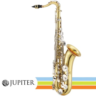Jupiter JTS710GNA 700 Series Lacquered Brass Body Key of Bb Student Tenor Saxophone w/ABS Case