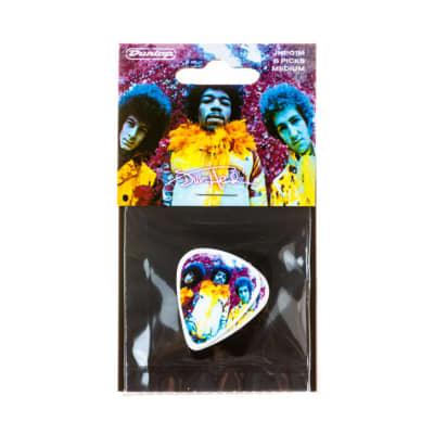 Dunlop JHP01M Jimi Hendrix Are You Experienced Medium Guitar Picks (6-Pack)
