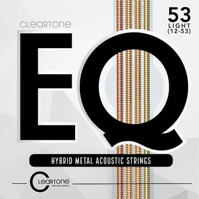 Cleartone 7812 EQ Hybrid Medal Acoustic Guitar Strings - Light (12-53)