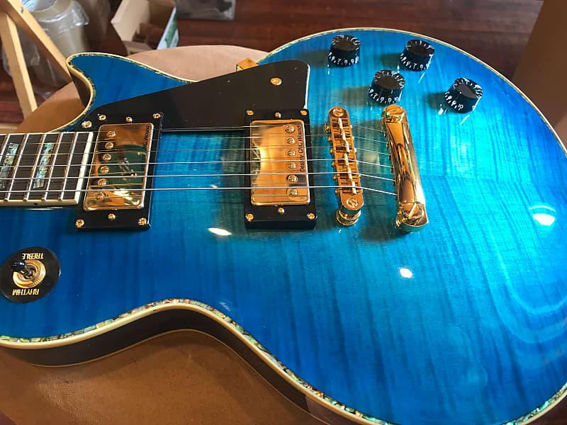 Blue Burst Guitars : wolf wlp 750t 2019 electric guitar blue burst w hard case reverb ~ Vivirlamusica.com Haus und Dekorationen