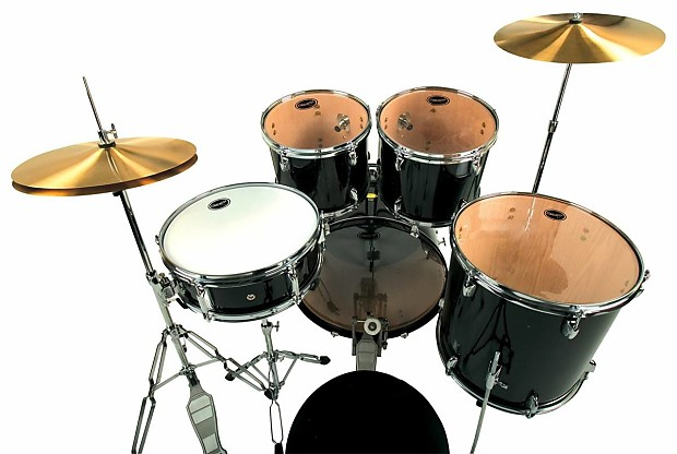 Fender Starcaster Drum Set - Black | Reverb