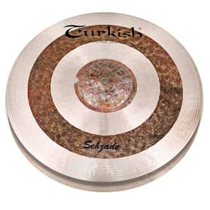 "Turkish Cymbals 14"" Custom Series Sehzade Hi-Hat SH-H14 (Pair)"