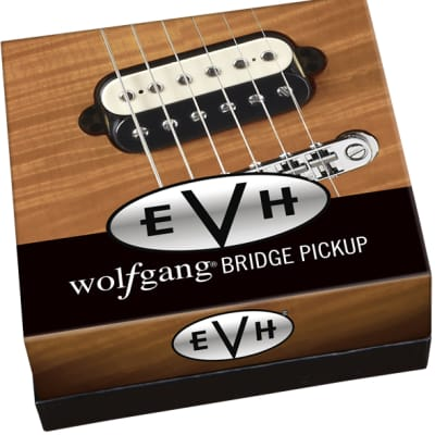 EVH Wolfgang Bridge Pickup - Black and White for sale