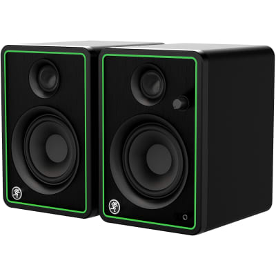 "Mackie CR4-XBT 4"" Active Studio Monitors with Bluetooth Connectivity (Pair)"