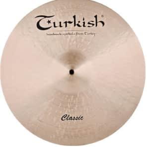 "Turkish Cymbals 16"" Classic Series Crash Paper Thin C-CPT16"