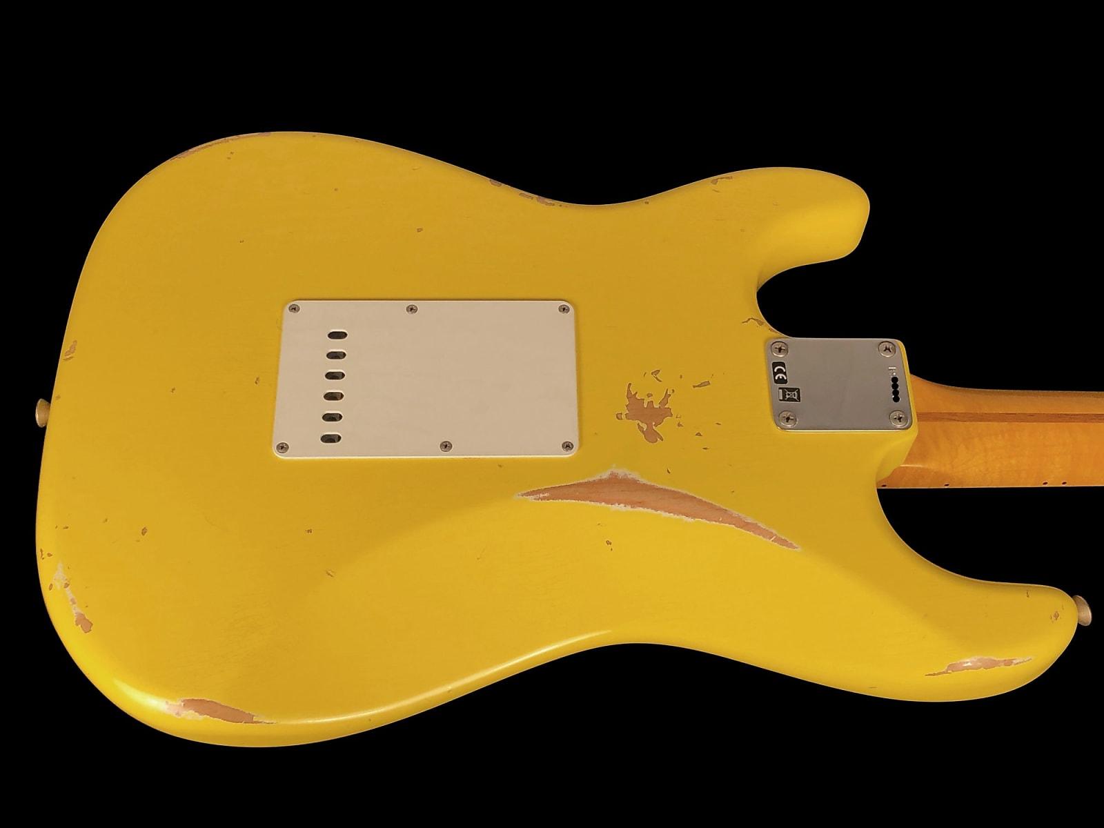 2017 Fender Stratocaster 1957 Custom Shop '57 Heavy Relic Strat ~ Graffiti Yellow
