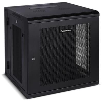 Cyberpower Systems Carbon Series CR12U51001 12 RU Wall Mount Rack Enclosure