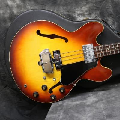 1969 Gibson EB2D -  Tea Burst - OHSC for sale