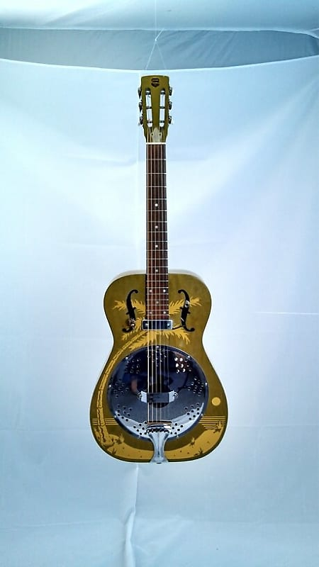dobro duolian hula girl 1987 stutzman 39 s guitar center reverb. Black Bedroom Furniture Sets. Home Design Ideas