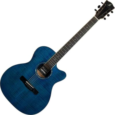 Merida Extrema OMCE Ltd. Ed. Electro Acoustic Guitar - Blue for sale