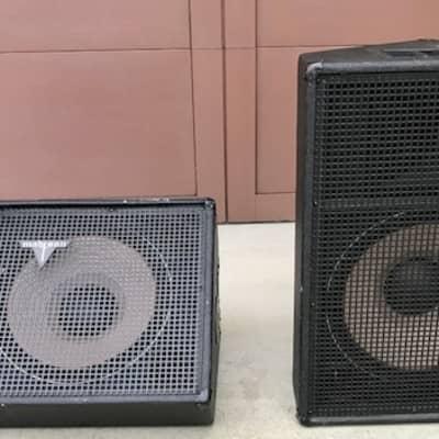 Madison M2-15F Speakers (Pair) 2010 Black for sale