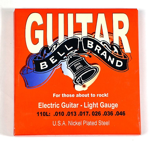 four sets bell brand electric guitar strings light gauge reverb. Black Bedroom Furniture Sets. Home Design Ideas