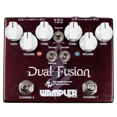 Wampler 2868 Dual Fusion Tom Quayle Signature Dual Overdrive for sale