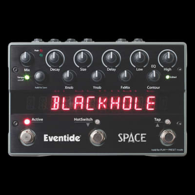 Eventide Space Reverb & Beyond Stomp Box Guitar Multi Effect Pedal