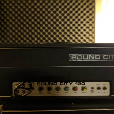 Sound City L120 MARK IV 1974 head EL34 for sale