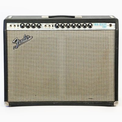 "Fender Twin Reverb 2-Channel 100-Watt 2x12"" Guitar Combo 1970 - 1971"