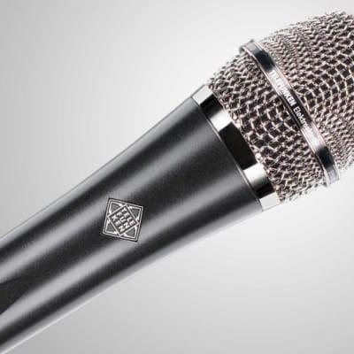 TELEFUNKEN Elektroakustik M80 Dynamic Live Stage Vocal Microphone Silver
