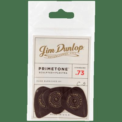 Dunlop Primetone Standard Smooth Picks 3-Pack, 511P - .73