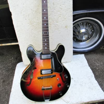 Kapa  Series 500 Guitar, 1960's,  Sunburst, 2 P.U.'s, Clean for sale