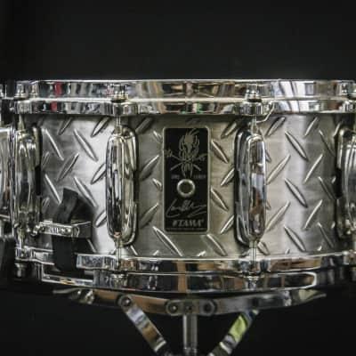 "Tama 6.5x14"" LU1465 Lars Ulrich Signature Steel Snare Drum"