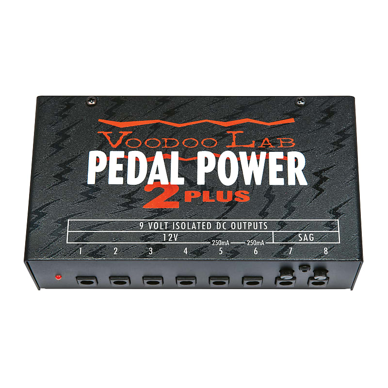 Voodoo Lab Pedal Power 2 PLUS 8-Output Isolated Effects Pedal Power Supply