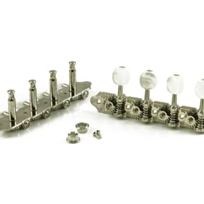 Grover Professional Mandolin Machine Heads for A Style, 4+4, Nickel Finish, 309N for sale