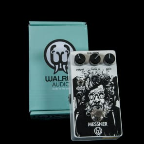 Walrus Audio Messner Overdrive Low Gain Transparent Overdrive Pedal for sale