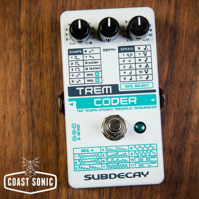 Subdecay  TremCoder Stereo Tremolo Sequencer