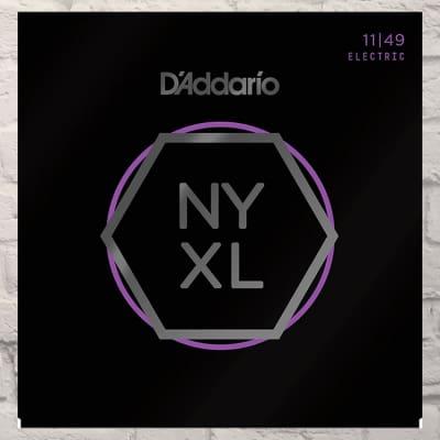 D'Addario NYXL1149 Medium Nickel Wound Electric Guitar Strings 11-49